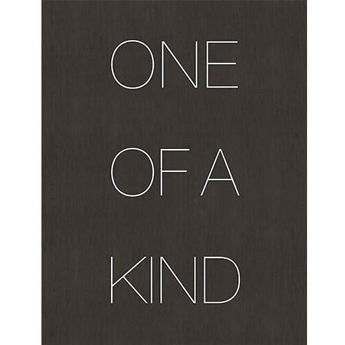 One of A Kind by Donald Graham