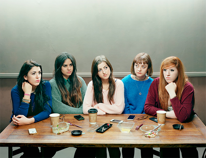 Five Girls 2014 by David Stewart, 2014