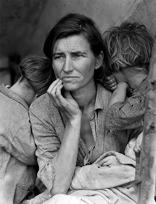 170 000 photos of the Great Depression