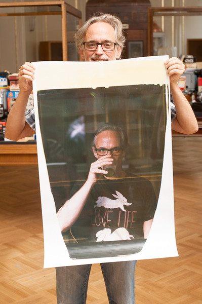SUPERSENSE turns your digital photos into real 20x24 Polaroids