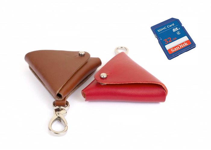 Lens or SD card Pouch