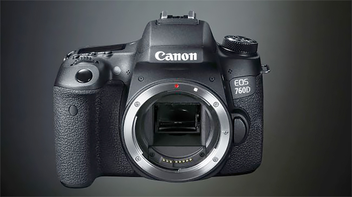 Canon EOS 760D (24.7 MP, 3-inch LCD) (Body Only)