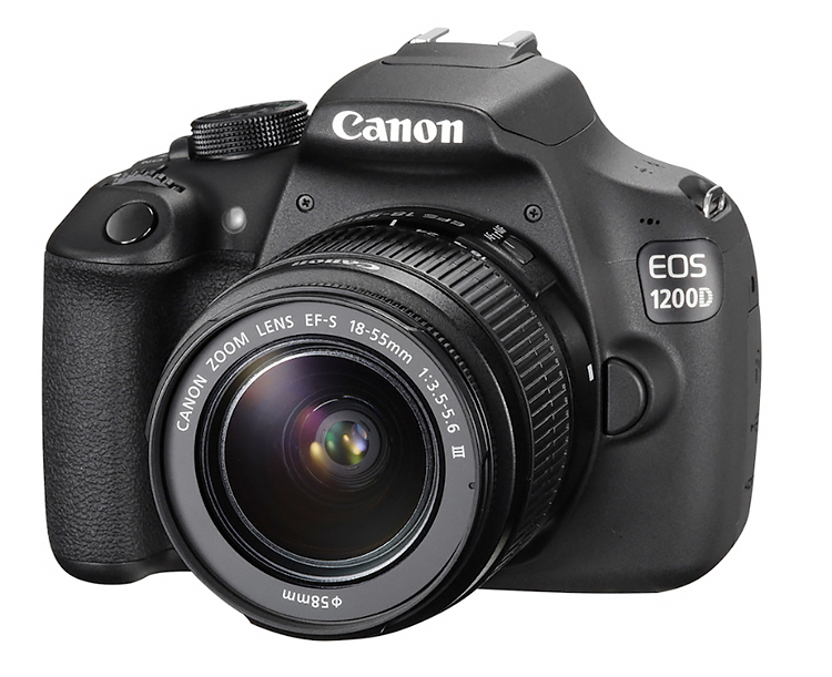 Canon EOS 1200D with 18-55mm f/3.5-5.6 IS II Lens Kit