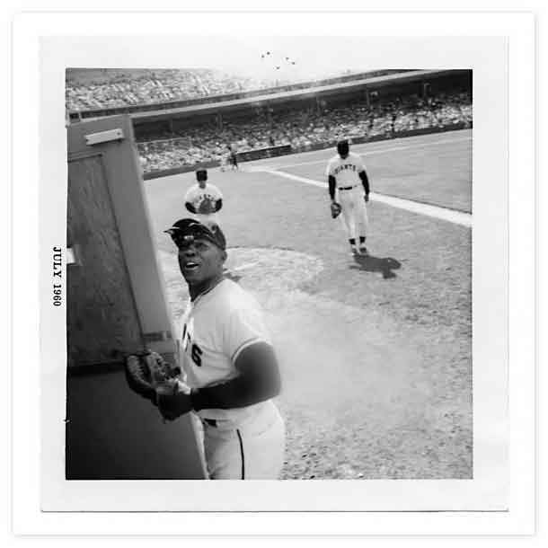 Michael Jang - Willie Mays at Candlestick Park, San Francisco, Age 9