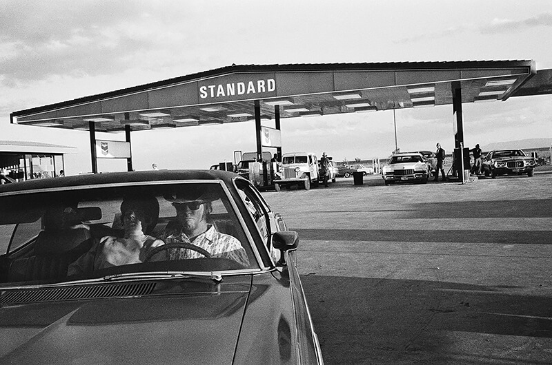 Mimi Plumb - Couple at the Gas Station