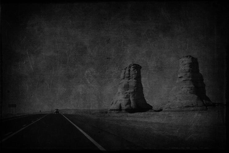 Sandrine Hermand-Grisel - Somewhere... in Tonalea, AZ
