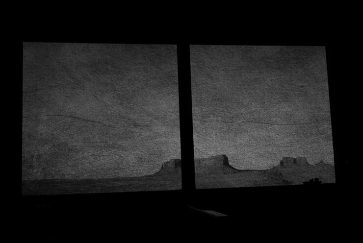 Sandrine Hermand-Grisel - Somewhere... in Monument Valley, UT