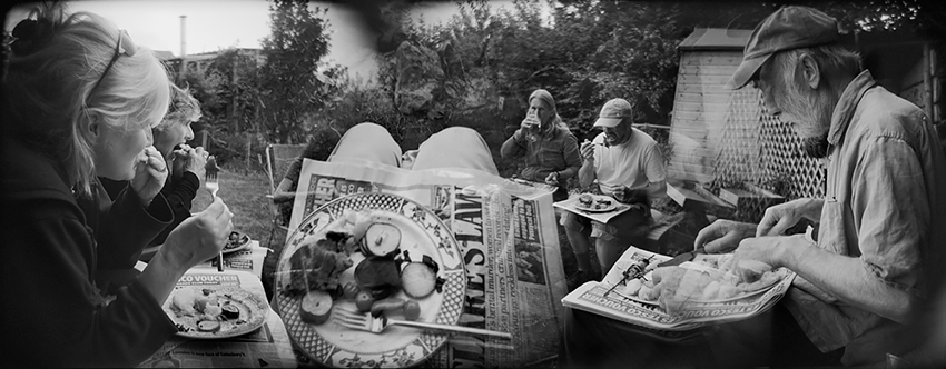 Ben Altman - Barbecue with Old Friends. South Devon, UK, 2011