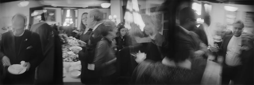 Ben Altman - Funeral Reception. Manhattan, NY. 2010