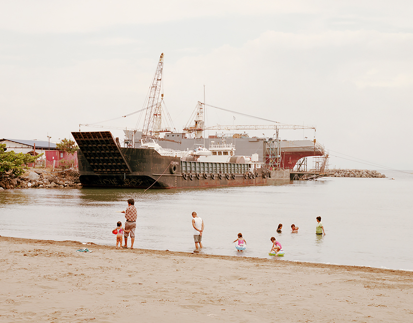 Jason Reblando - Cargo ship, Subic Bay