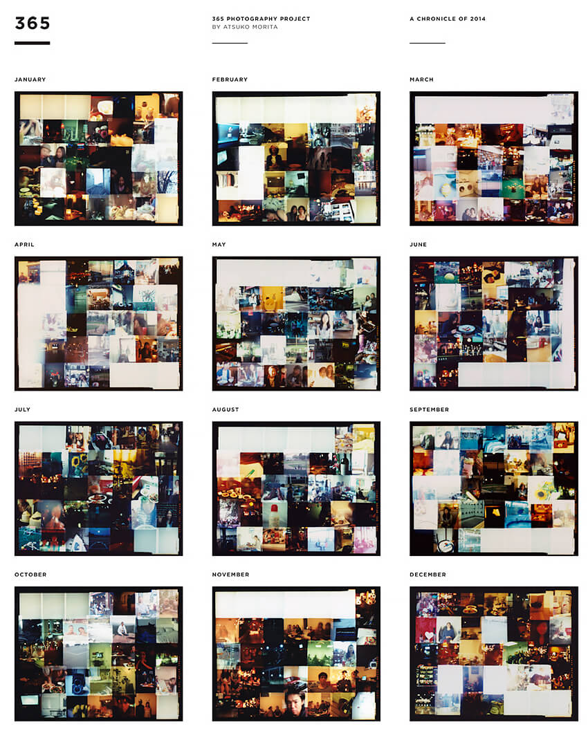 Atsuko Morita: Project 365