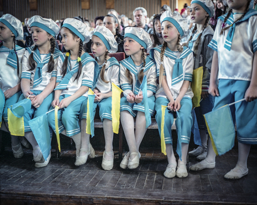 Justyna Mielnikiewicz - Competition of School Dance Groups of Slavyansk and Krematorsk
