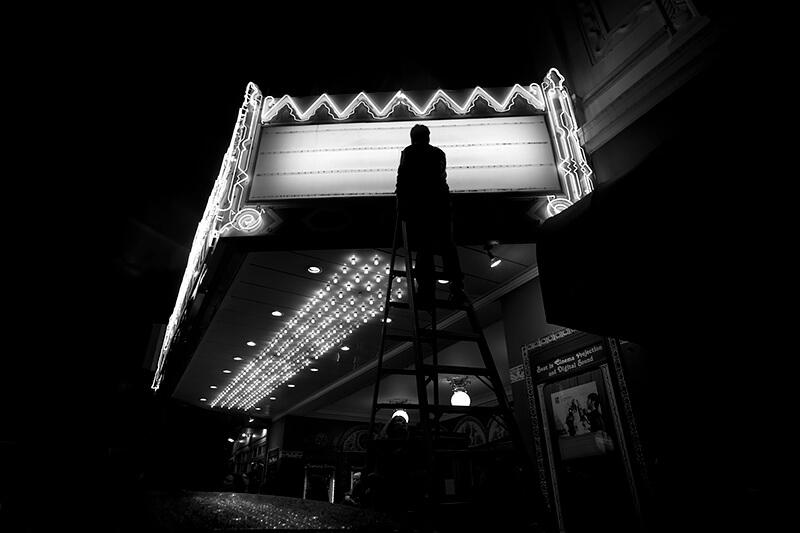 Pamela Gentile - Marquee, Castro Theatre, San Francisco