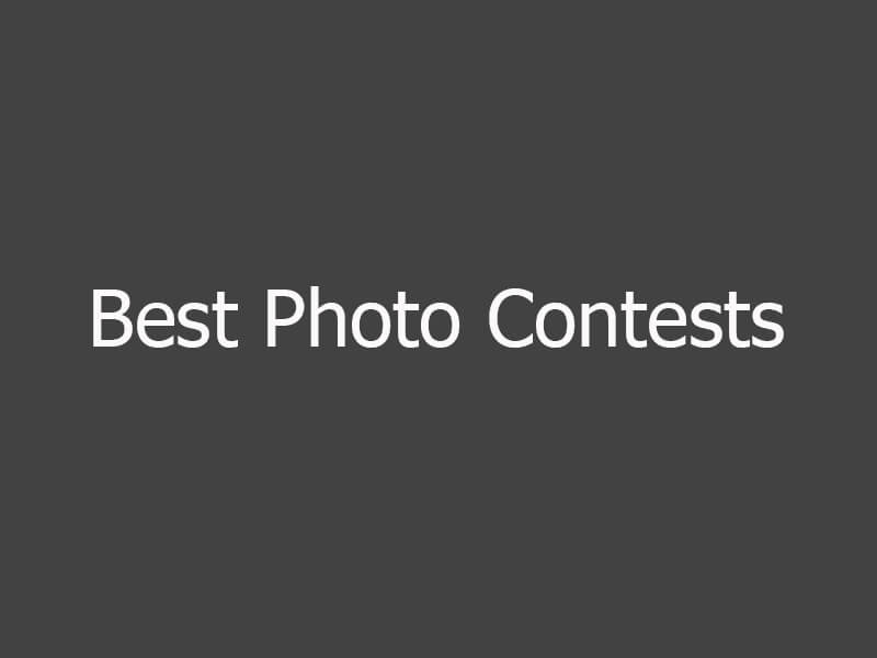 Best World Photography Contests and Prizes