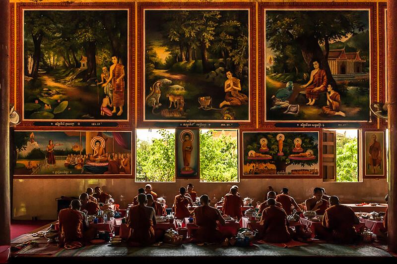 Tariq Zaidi - Oudong Buddhist Monastery