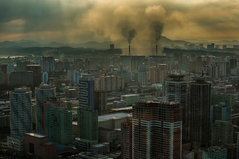 Tariq Zaidi - Pyongyang City View