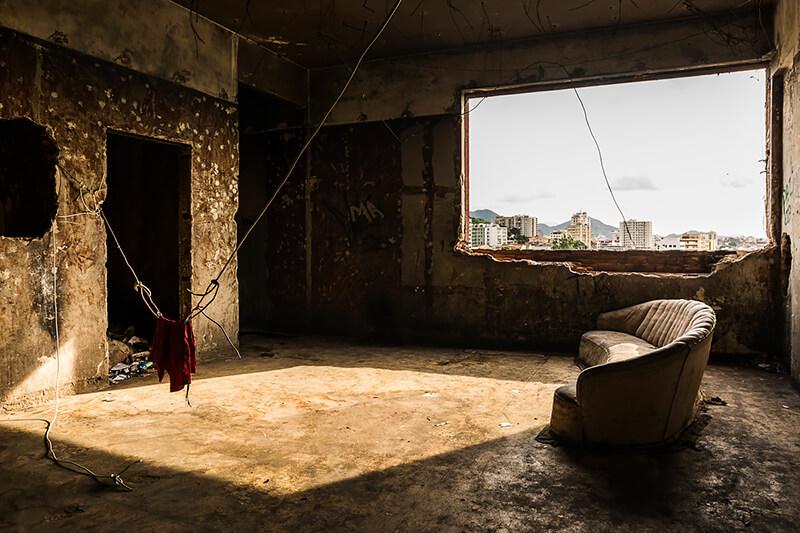 Tariq Zaidi - Favela Shorts