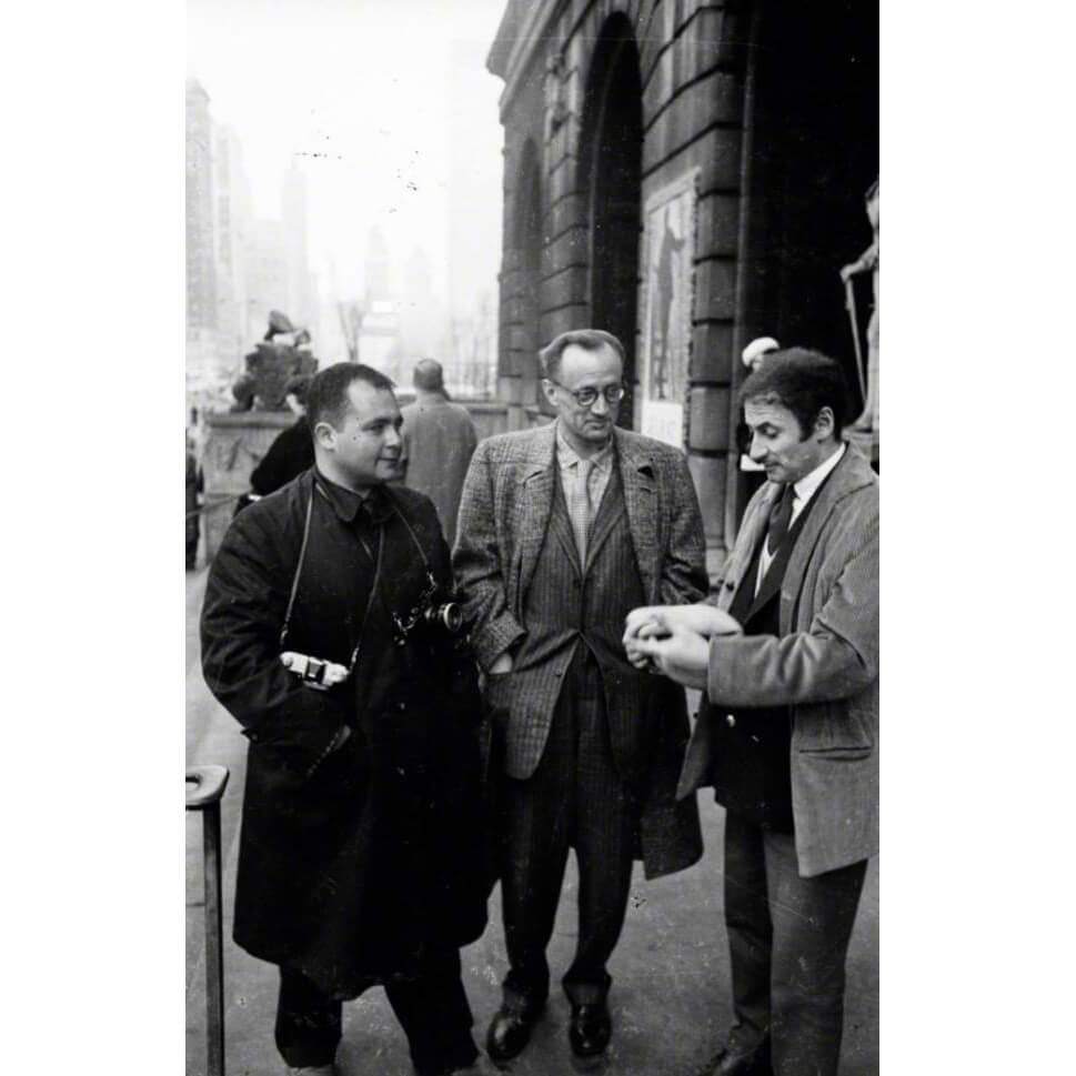 Art Shay, Nelson Algren and Marcel Marceau