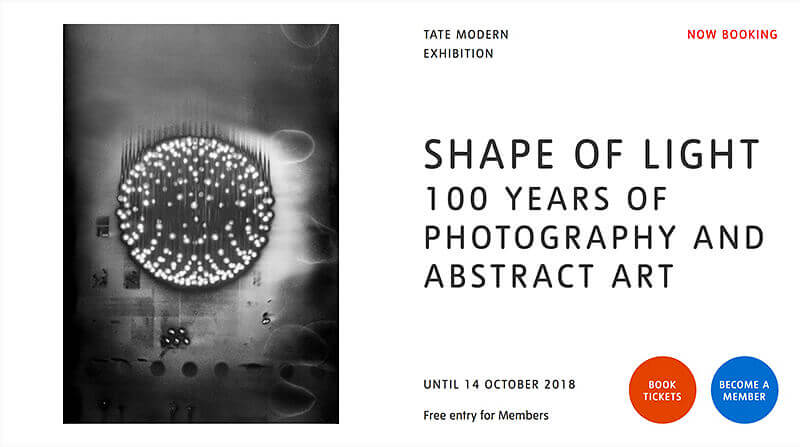 Shape of Light: 100 Years of Photography and Abstract Art - Tate Modern, London
