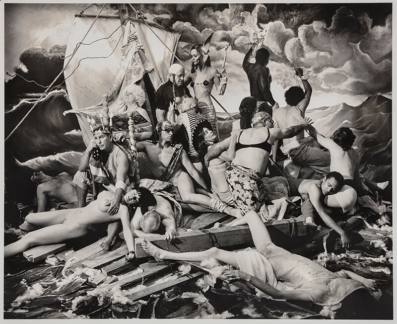 Joel-Peter Witkin - The Raft of George W. Bush