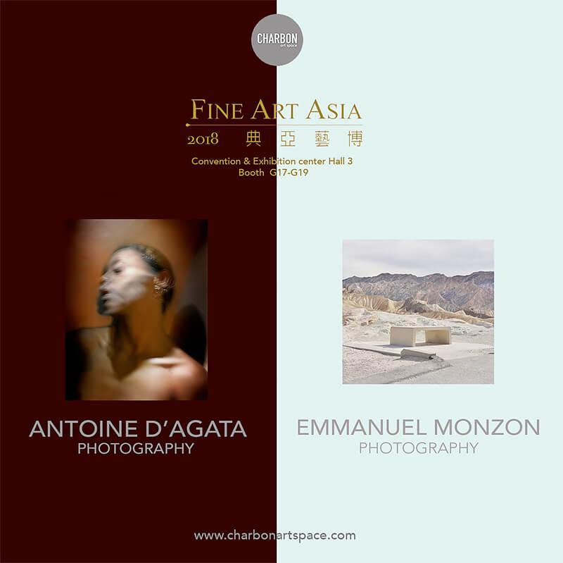 Fine Art Asia 2018: Antoine D'Agata and Emmanuel Monzon