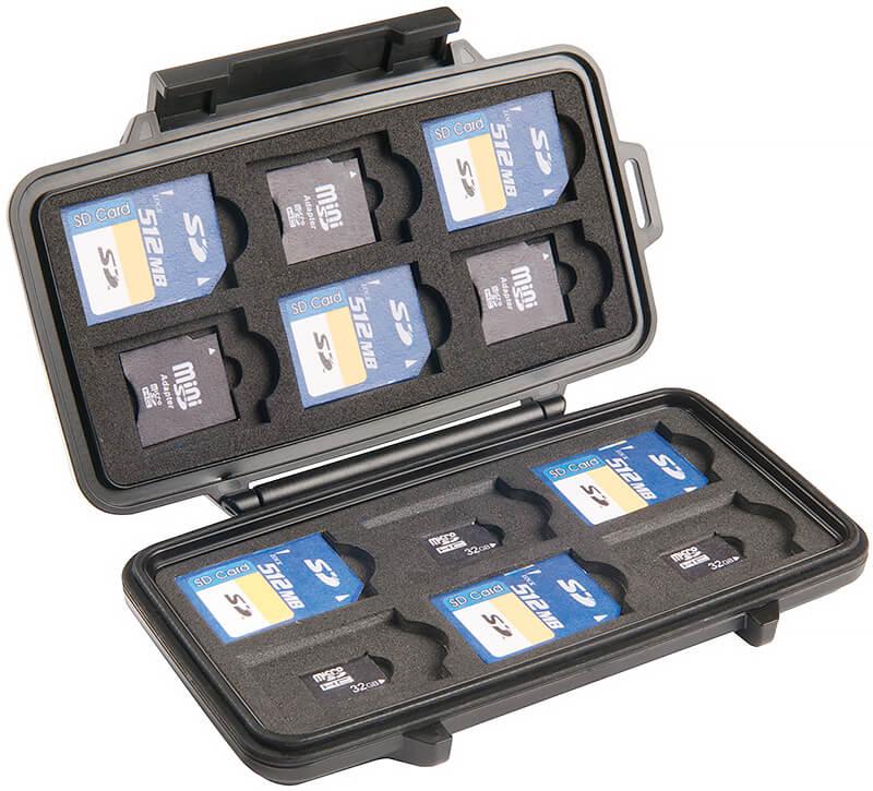 Memory-Card Wallets