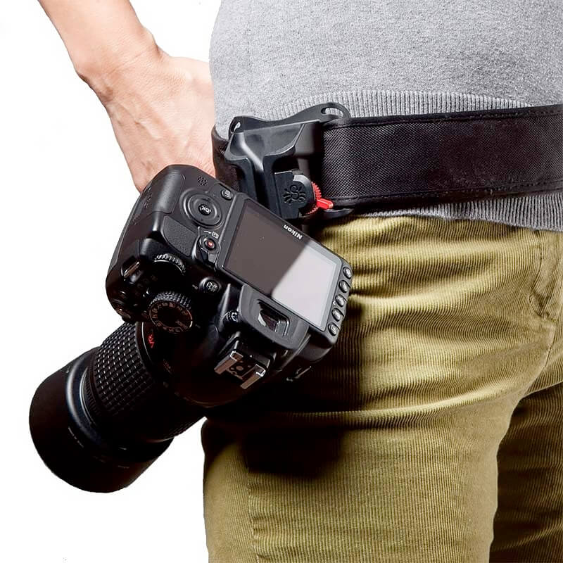 Spider Black Widow Camera Holster