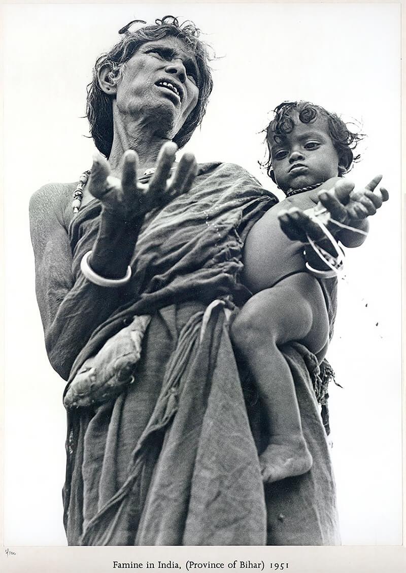 Werner Bischof: Famine in India (Province of Bihar) 1951