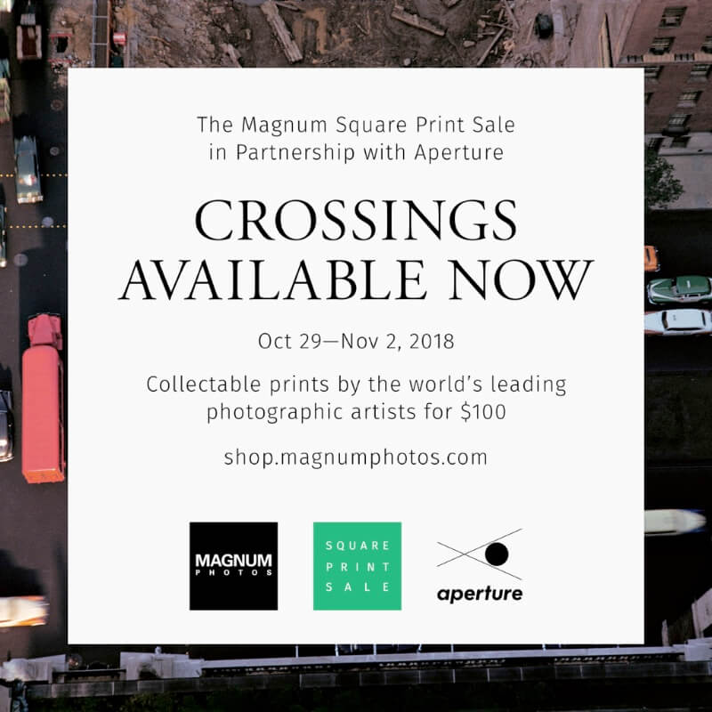 Crossings: The Magnum Square Print Sale in Partnership with Aperture