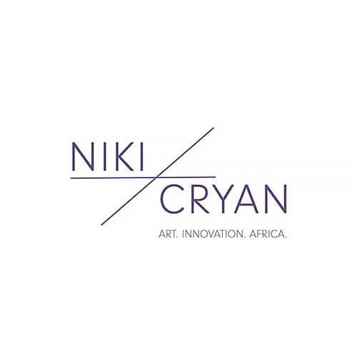 Lakin Ogunbanwo at Niki Cryon Gallery