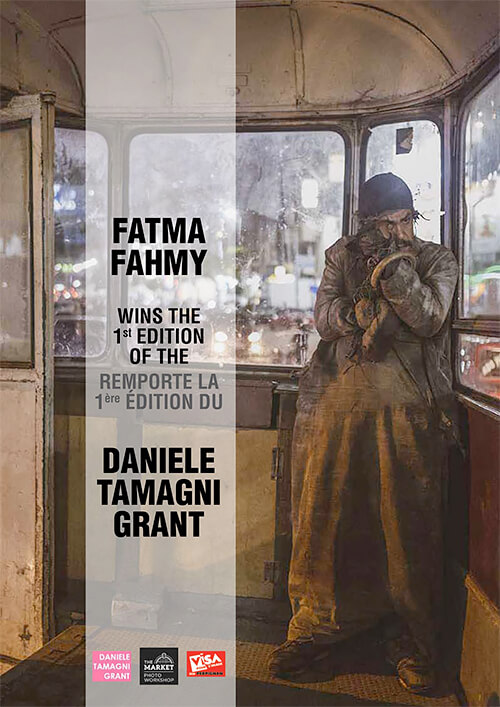 Fatma Fahmy wins the 1st Edition of the Daniel Tamagni Grant