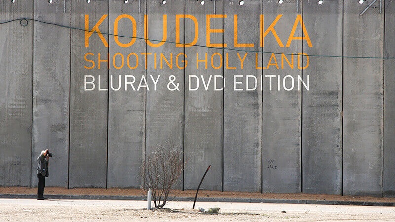 Koudelka Shooting Holy Land: The Disc Edition