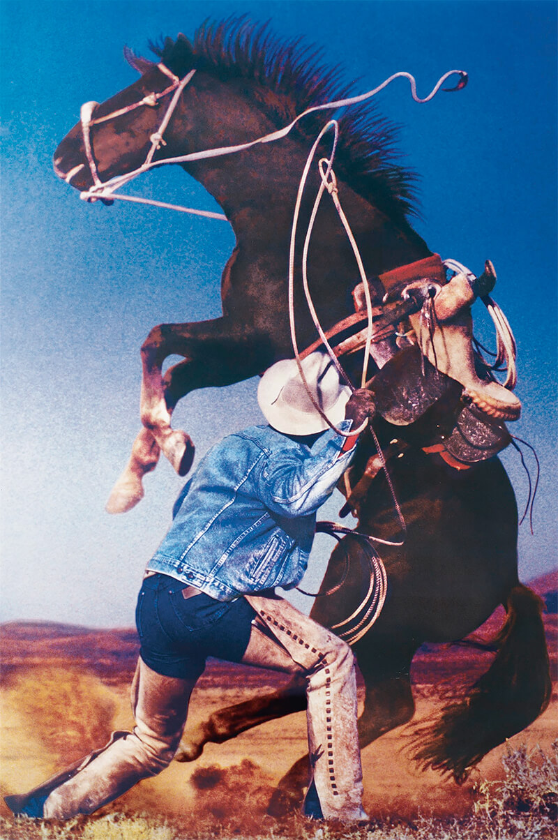 Richard Prince: Untitled (cowboys)