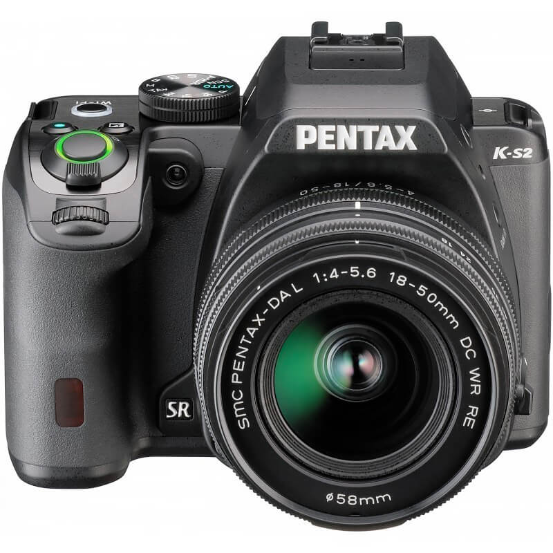 Pentax K-S2 DA-L 18-50 DC WR RE Objective Kit