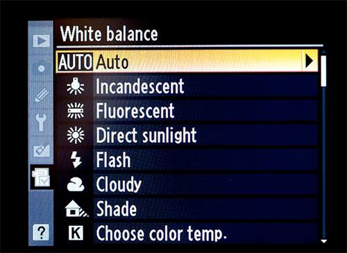 White Balance Auto