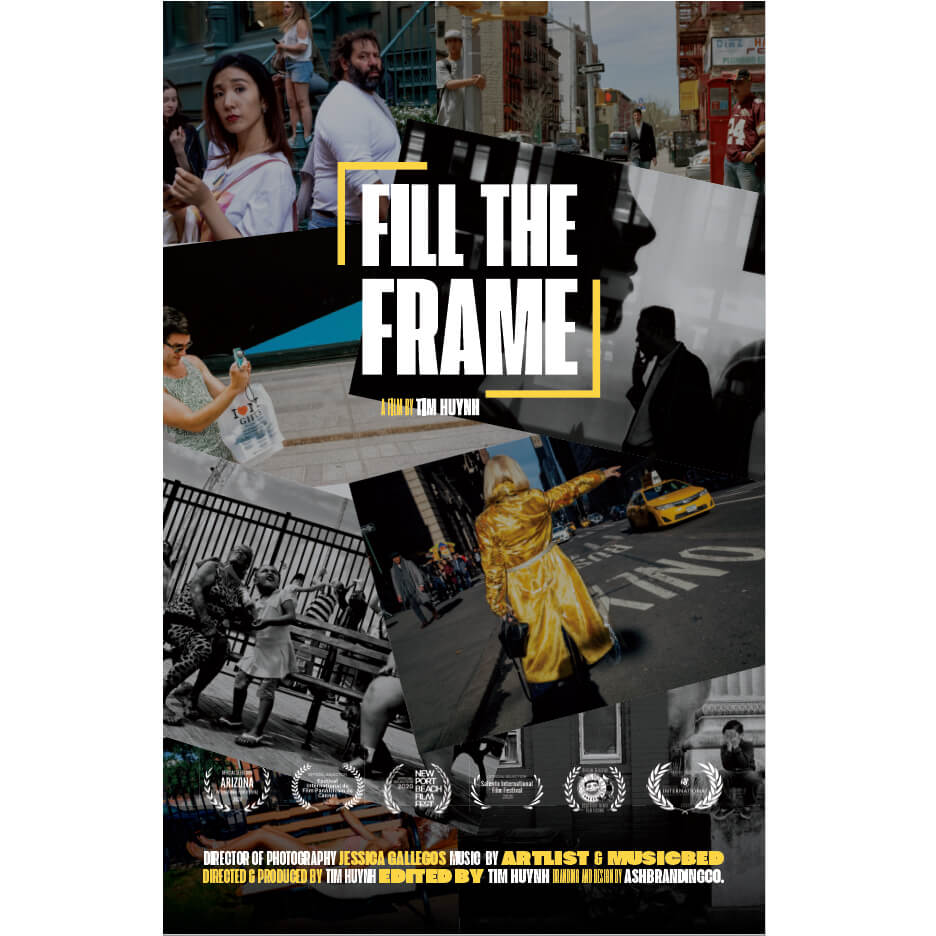 Fill The Frame a New Street Photography Documentary
