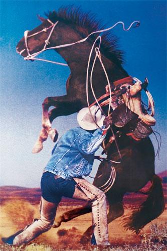 Richard Prince: Untitled (cowboys)
