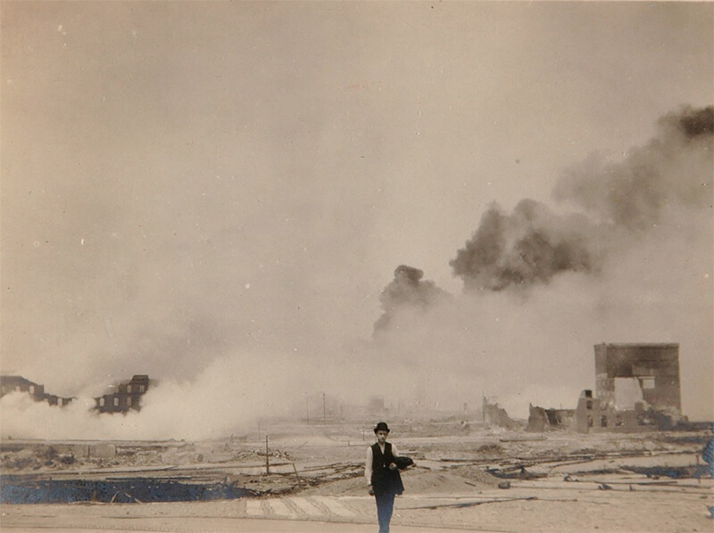 Out of the Ashes: Snapshots of the 1906 San Francisco Earthquake