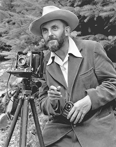 Ansel Adams - © J. Malcolm Greany