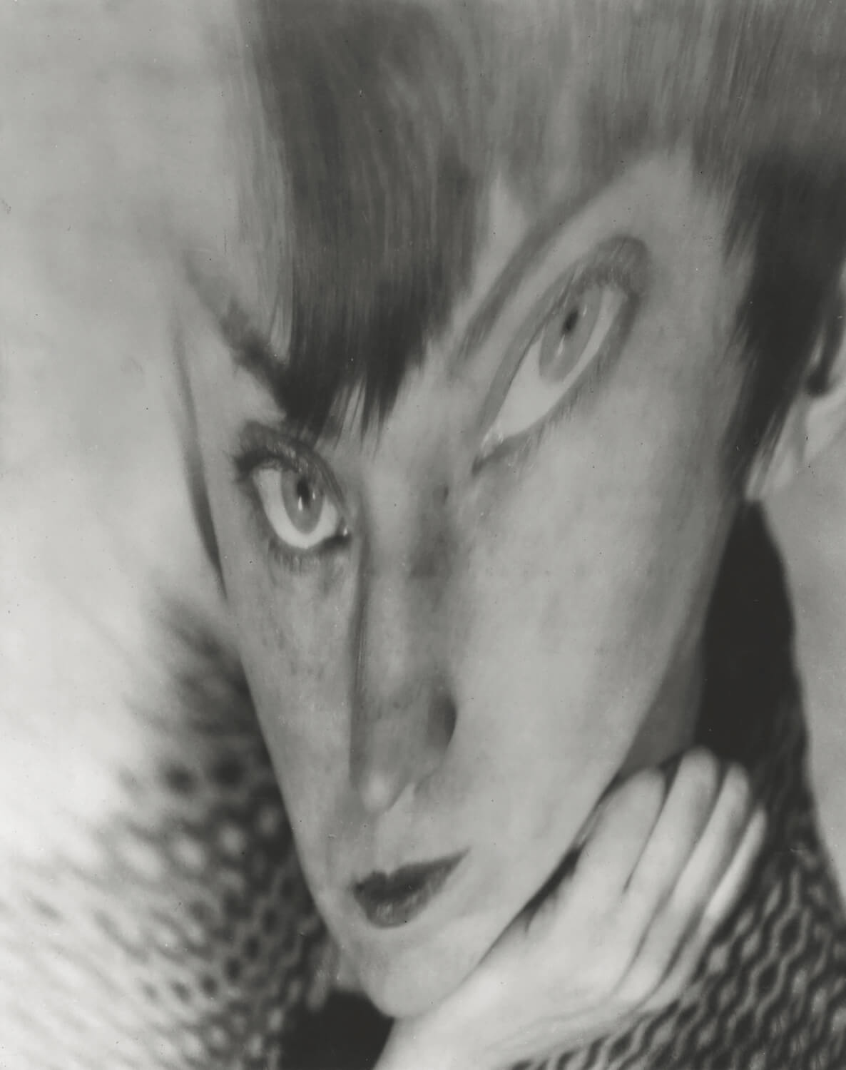 Self-Portrait, Distortion, 1930<p>© Berenice Abbott</p>