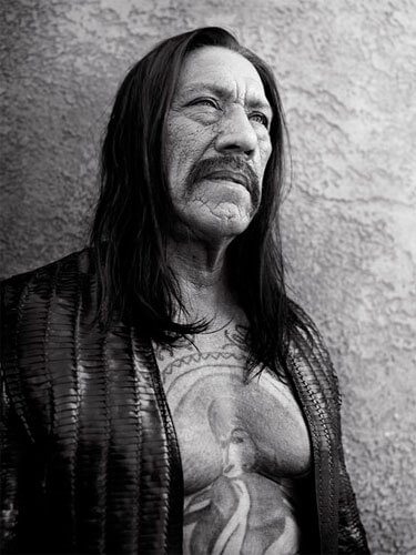 Danny Trejo, Los Angeles, 2011<p>Courtesy Trunk Archive / © Bryan Adams</p>