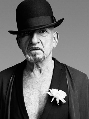 Sir Ben Kingsley, London, 2010<p>Courtesy Trunk Archive / © Bryan Adams</p>