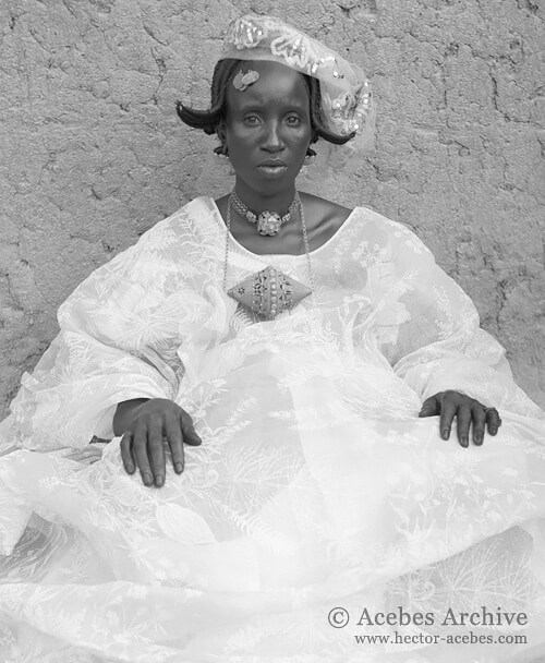 Unidentified woman, Mali, 1953<p>© Hector Acebes</p>