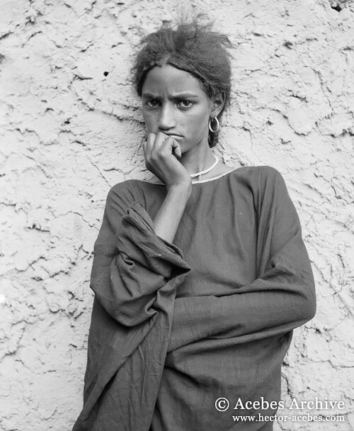 Unidentified girl, Mali, 1949<p>© Hector Acebes</p>