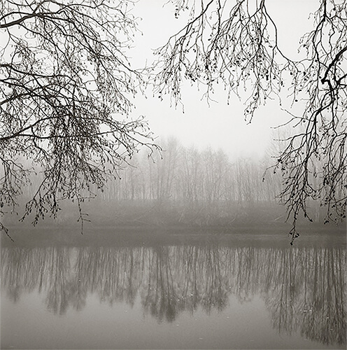 Kristoffer Albrecht - Trees by water, Nykarleby, Finland 1992