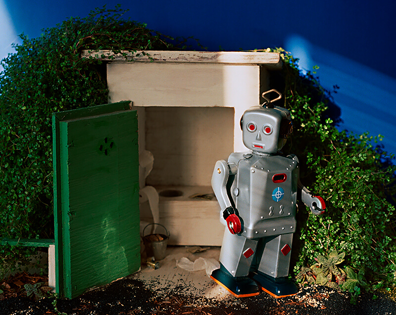 Outhouse Robot<p>© Stephen Albair</p>