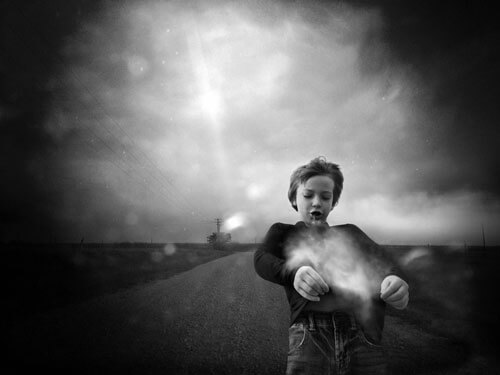 On a dust kissed drive<p>© Angela Bacon-Kidwell</p>