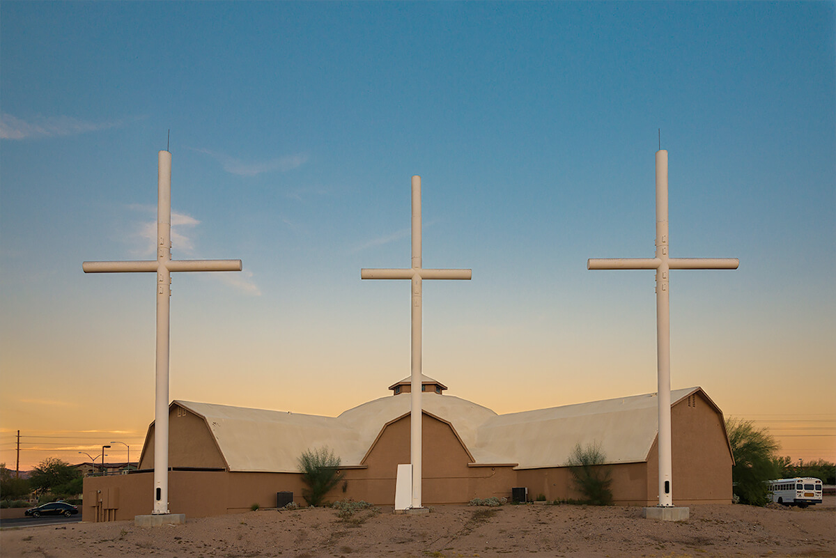 Fauxliage: East Valley Church, Mesa, AZ<p>© Annette LeMay Burke</p>