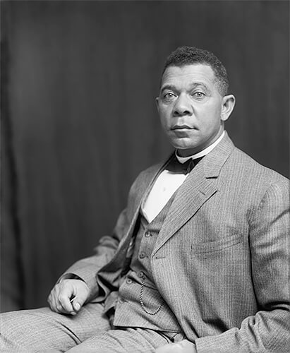Frances Benjamin Johnston - Booker T. Washington by Francis Benjamin Johnston, c. 1895