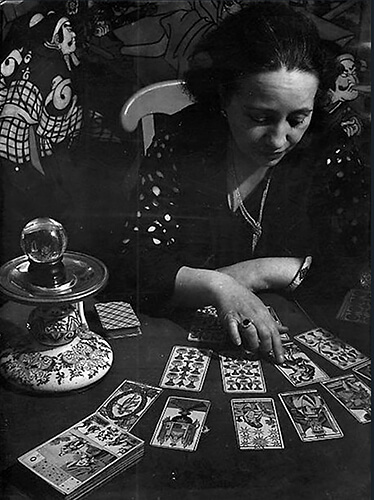 George Brassaï - The Fortune Teller, 1933